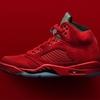 """ナイキ エア ジョーダン 5 レトロ ユニバーシティ レッド/ブラック 136027-602 AIR JORDAN 5 RETRO """"RED SUEDE"""" University Red/Black/University Red メンズ/MENS"""
