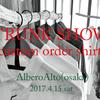 TRUNK SHOW >>> AlberoAlto(大阪)