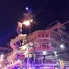 ナコンサワン(นครสวรรค์)の春節・中国正月の龍舞は圧巻でした!!其の弐(1/27夜間パレード編)