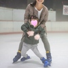 3歳長女と初めてのアイススケート