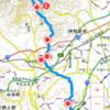 大山を目指して25km縦走?