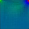【差分法】SMAC法で中心差分を用いてNavier-Stokes方程式を解きました C++コード付き