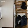 【DIY】ラブリコ(アイアンアジャスター)を使って棚と洋服掛けを作成!