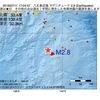 2016年07月11日 17時04分 八丈島近海でM2.8の地震