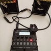 ZOOM G1 FOUR x RMS-10(L ch) + MS2(R ch) おもちゃアンプステレオ化