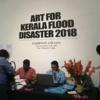 アートでケララを救う!チャリティ販売会@国立近代美術館(デリー)