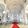 粼津教会、畳敷きの内部公開