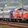 第1429列車 「 キハ120-11+キハ120-16の網干出場配給を狙う 」