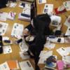 広島県立高陽東高等学校でハテナソン授業と研修をおこないました(12 Jan 2018)