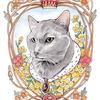 個性あふれるネコたちがモデル!水彩画個展「ネコの肖像」@保護猫カフェ