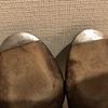 UNION WORKSで革靴の修理:三陽山長のローファーにヴィンテージスティールを!