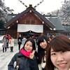 """札幌で女子旅!""""Part1"""" 北海道神宮と円山のスイーツのお店"""