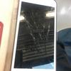 【iPhone】バッキバキ…修理するはめに