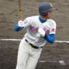 バットコントロールのよいショート 花咲徳栄 韮澤 雄也選手 高卒左内野手