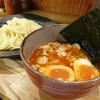 つけ麺屋やすべえの辛味つけ麺を最後の一滴まで味わう@東京都港区赤坂