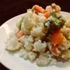 アンチョビ風味の温野菜サラダ