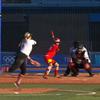 動画映像!オリンピックソフトボール日本対カナダで山田がサヨナラヒット!