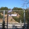 橋を望む展望台