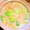 春めく小松菜の卵雑炊