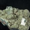 インドのアポフィライト。ヒューランダイトの母岩風