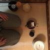 台目畳の道具配置