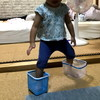 この時期に行く1歳半健診・トイレの踏み台作成 - 年子育児日記(3歳1ヶ月,1歳7ヶ月)