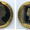 マン島1990年ペニーブラック150年記念5オンス金貨