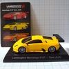 (レビュー)京商ミニカー ランボルギーニ ミニカーコレクション6 Lamborghini Murcielago R-GT Team JLOC