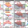 【資産運用】株価指数大暴落の様相です(´・ω・`)