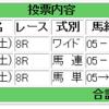 2018/09/22(土) 4回中山6日目 8R 清秋ジャンプS 障害3210m