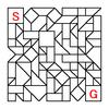 四角渡り迷路:問題18