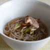 39冊目『おうちで食べようクイック麺』から5回めは北京的鴨南蛮そば