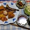幸運な病のレシピ( 2424 )夜:コルドンブルー(チーズの鳥巻フライ)、南蛮海老のフリッタ、糠漬け(酒粕入れた)