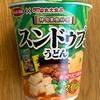 【サンヨー食品   x  丸大食品 韓国家庭料理 スンドゥブうどんマイルド】煮込みうどん風にしてメチャ旨❗️