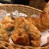 7月9日【昼のソト飲み】ビヤレストラン ミュンヘン、カマンベールチーズ、若鶏の唐揚。