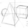 あれ……、正方体が描けないぞ……というトラブルに遭遇中 (アナログ1枚、その他)