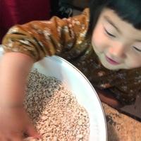 【スザンヌの妹マーガリンの子育てin熊本】はじめての味噌作り体験☆こんなに簡単にお味噌が作れるなんて!