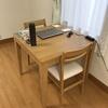 引越し直前に手放す予定のテーブル!新居のリビングで最優先すべきもの。