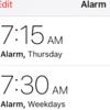 番外編11.1 Siriで英会話:目覚まし設定 + ありがとう