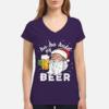 Charming Ho Ho Hold My Beer Christmas Drinking Santa shirt