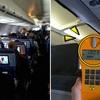 飛行機をよく乗ればならない理由? 放射能に露出される。