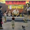 なびす画廊の新井コー児展が始まった