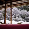 詩仙堂の雪景色@2019