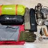 【僕キャンプ】明日キャンプに行ってきます/初夏のキャンプ装備のご紹介