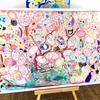 「夢の桜プロジェクト」で絵の先生をしました