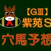 【GⅢ】紫苑S 結果 ◎パラスアテナ【的中】