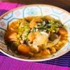 春キャベツと魅惑のハリッサ!ピリ辛野菜スープ