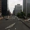★JR大阪駅前の梅田新歩道橋から