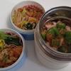 雑談:今日の麺弁当♡適当パスタ