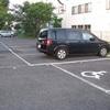 駐車場のラインが見易くなりました